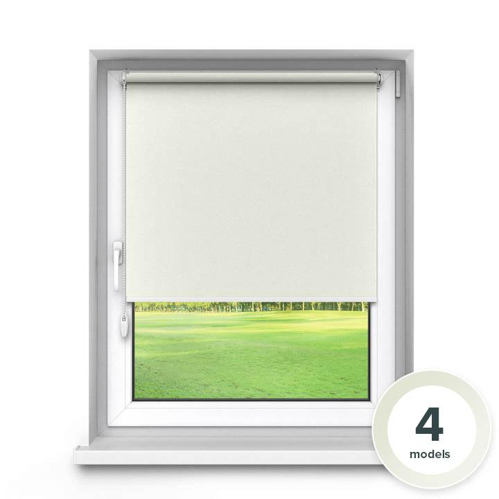 Blackout No Drill Premium Roller Blind