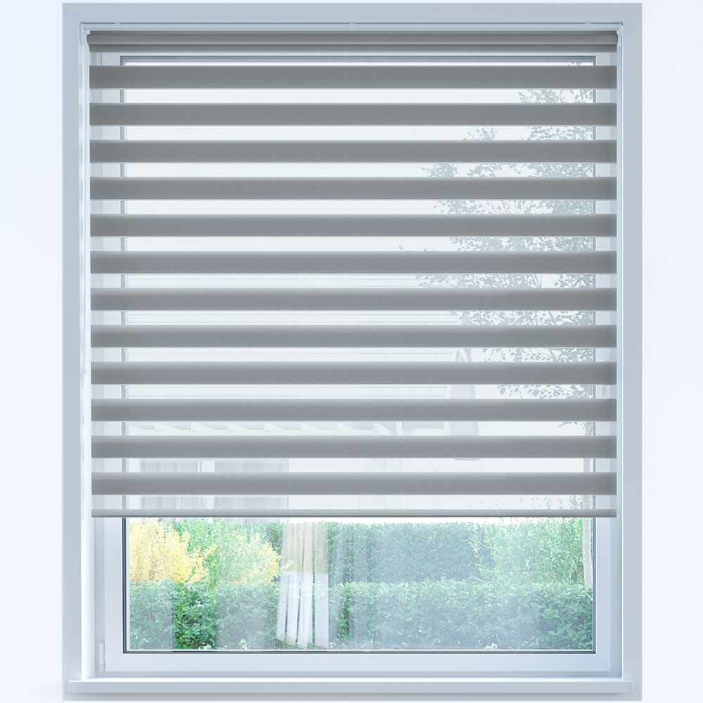 Day and Night Roller Blind, Shadow Grey
