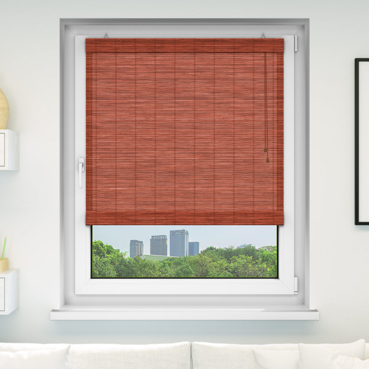 Bamboo Roman Roller Blind Ready Made