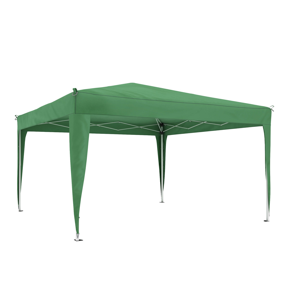 Premium Gazebo frame with cover, 3x3 m, Green