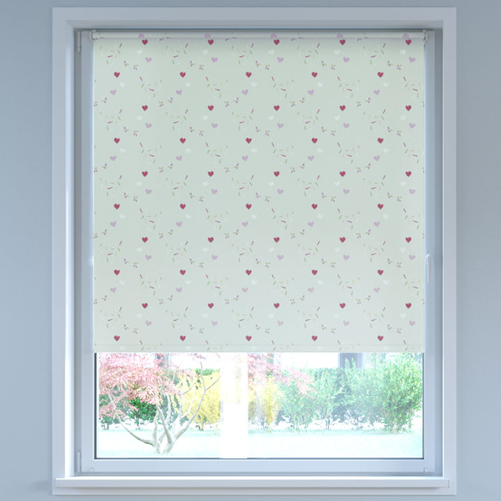 Blackout Digital Print No Drill Standard Roller Blind, Sweets