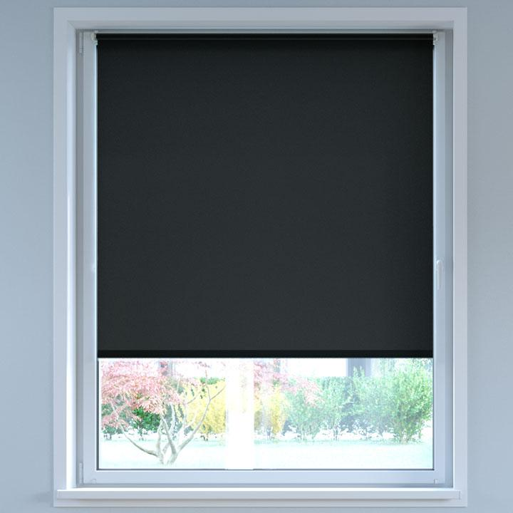 Darkening No Drill Standard Roller Blind