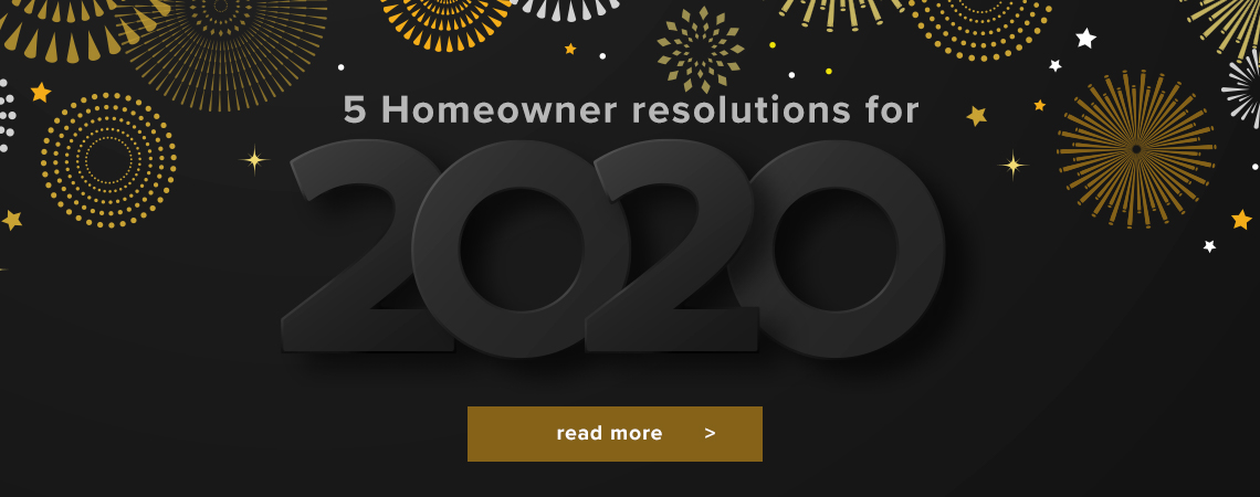 Homeowner resolutions for 2020