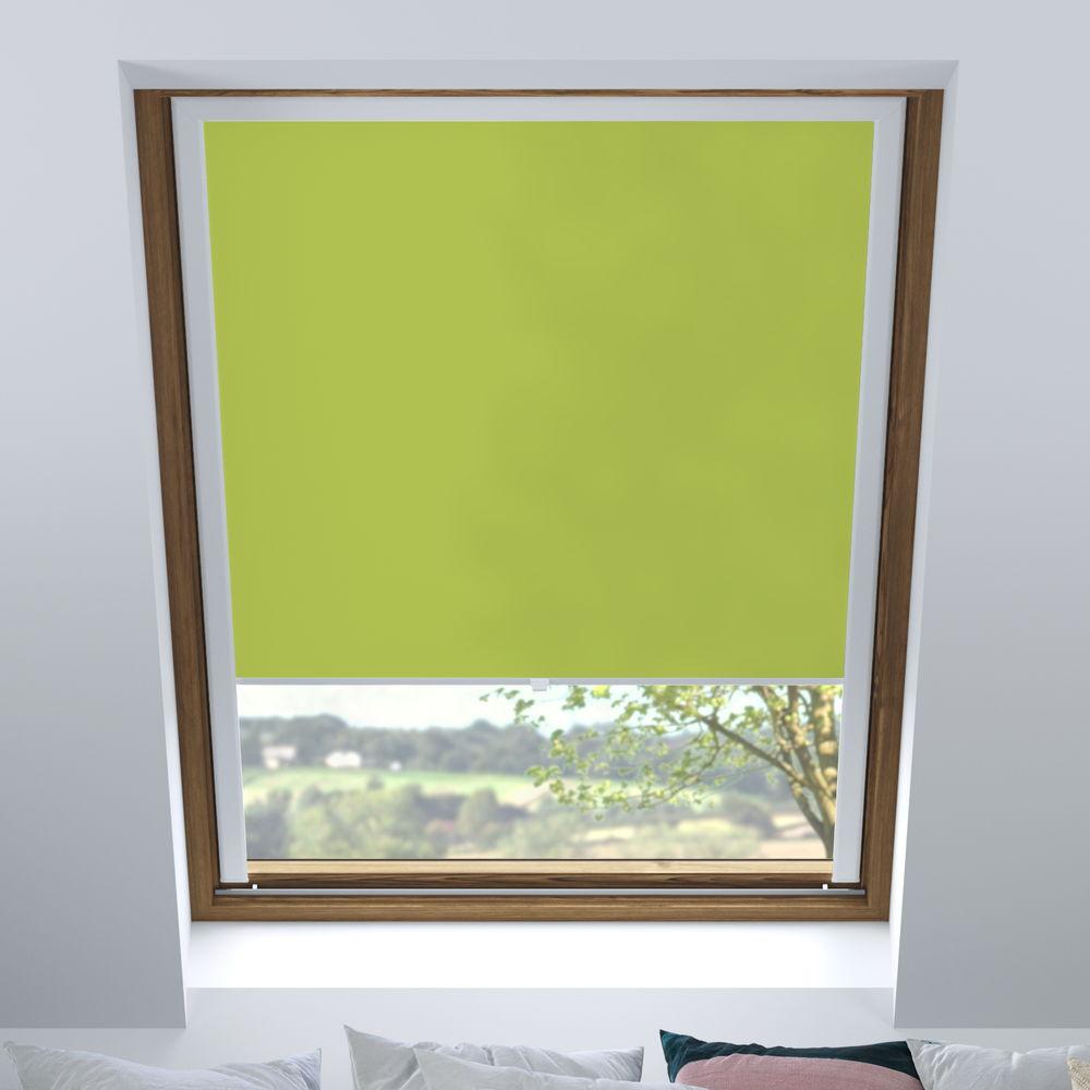 Darkening PureNight Skylight Blind, Apple Green