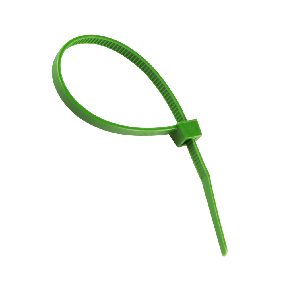 Cable tie 3,6 mm x 140 mm, Green