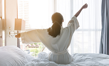 Providing a peaceful night's sleep