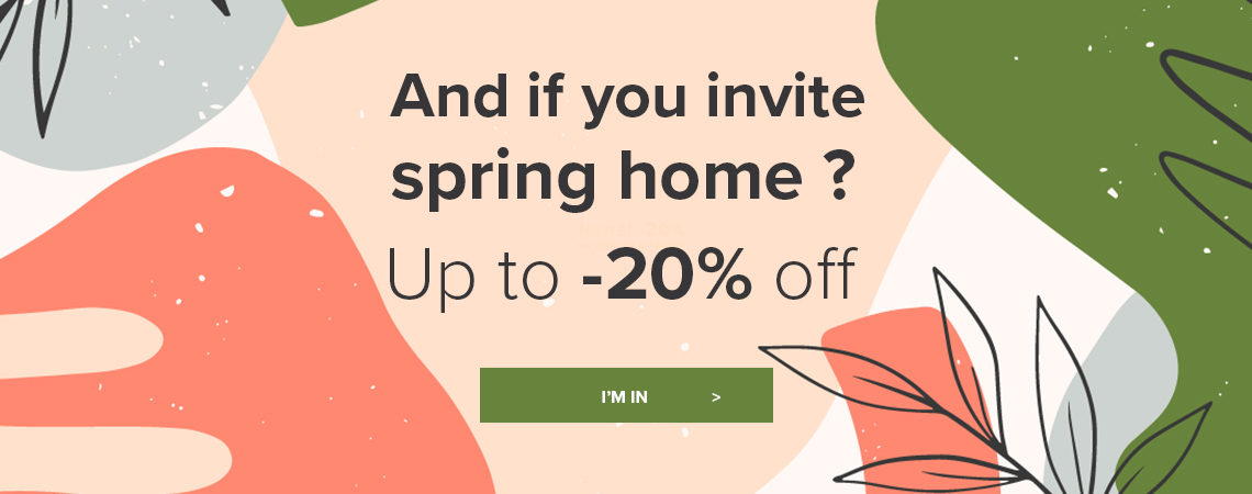 And if you invite spring home?