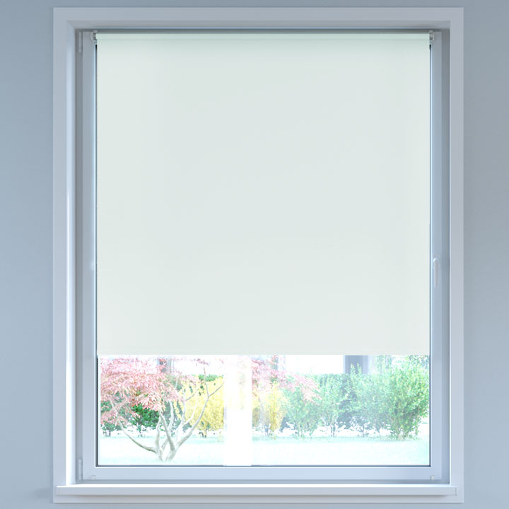 Blackout No Drill Roller Blind, Off-white