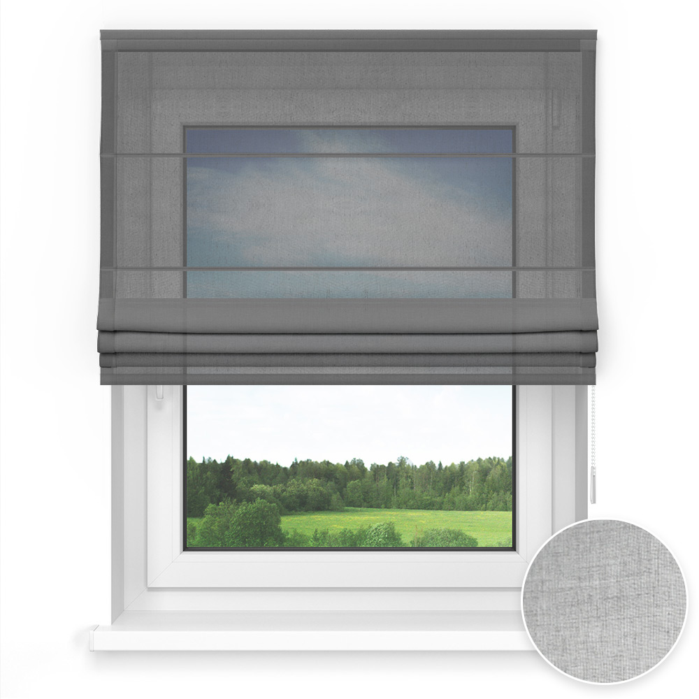 Transparent Standard Roman Blind, Seal