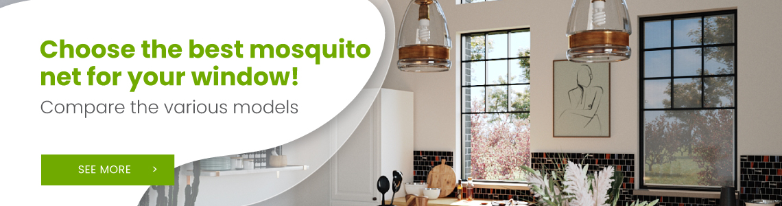 Choose the best mosquito net for your window