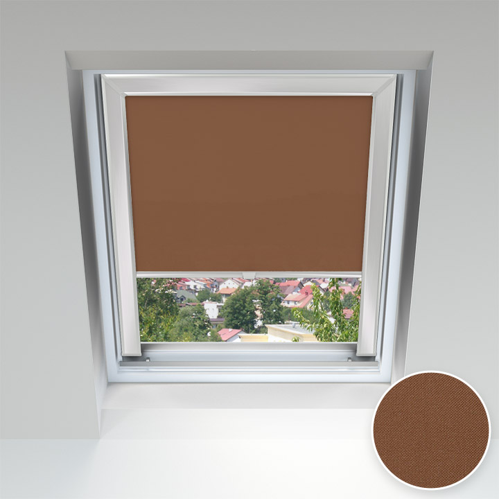 PureNight Skylight Blind, Bronze