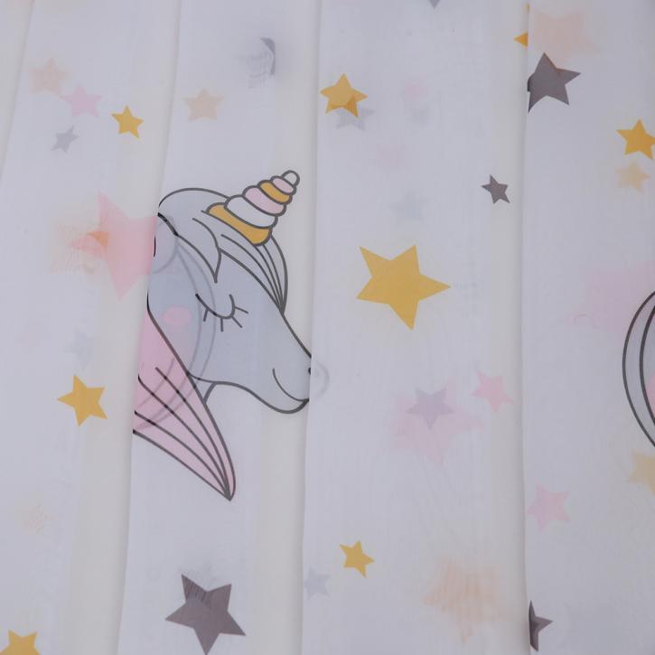 Transparent Eyelet Children's Curtain Lulu