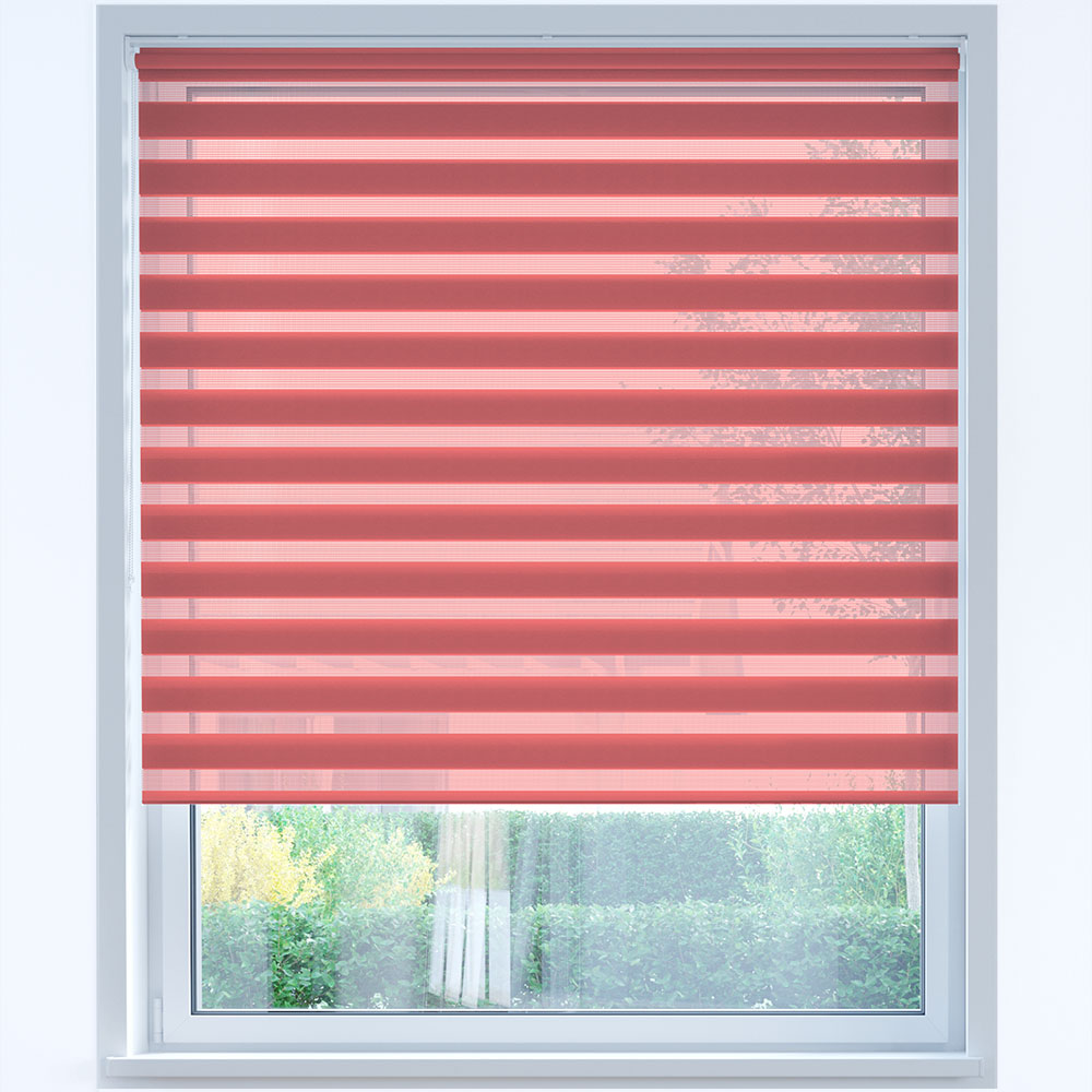 Standard Day and Night Roller Blind, Wild Rosehip