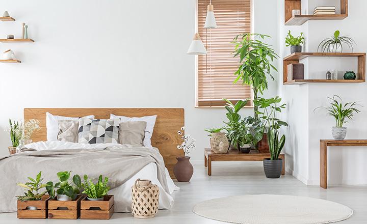 Bedroom bamboo Blind