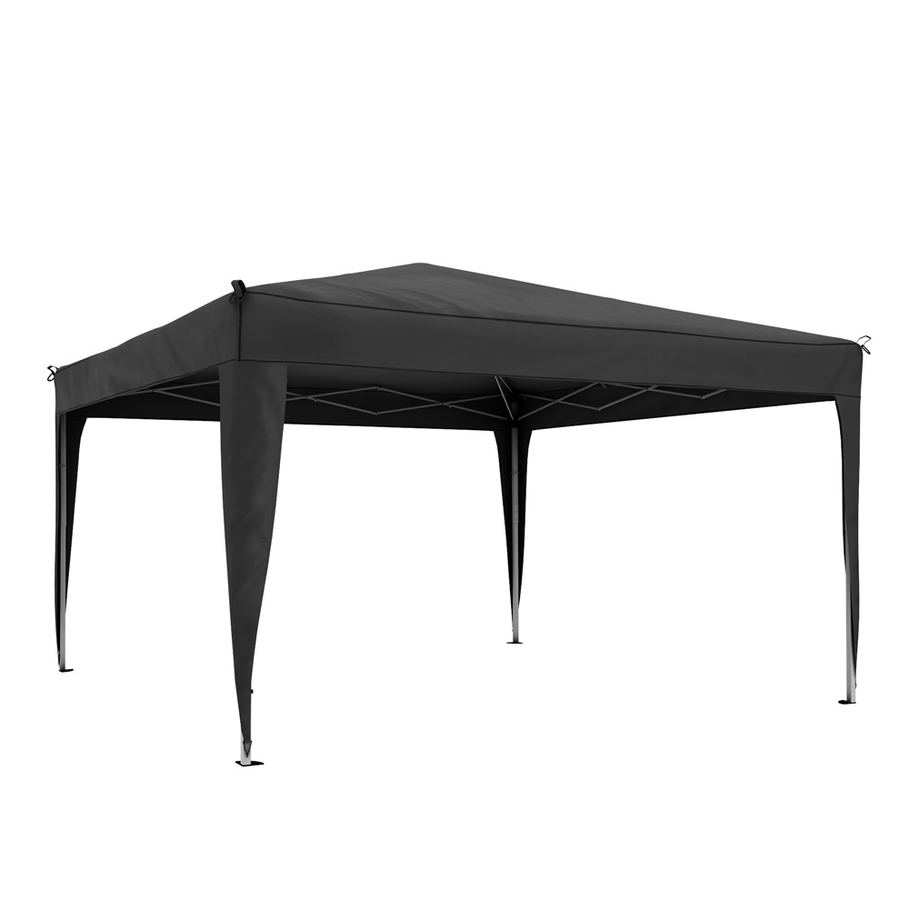 Basic Gazebo frame with cover, 3x3 m, Anthracite