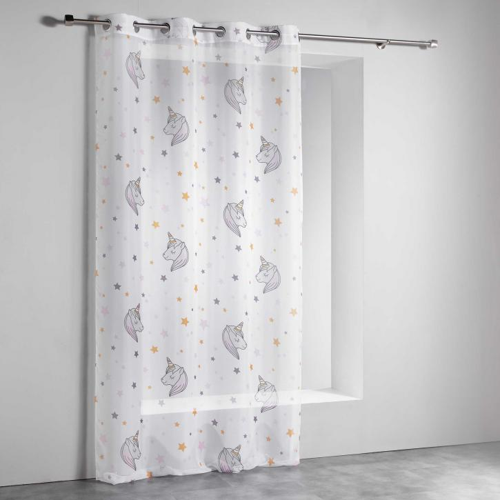 Transparent Eyelet Children's Curtain Lulu