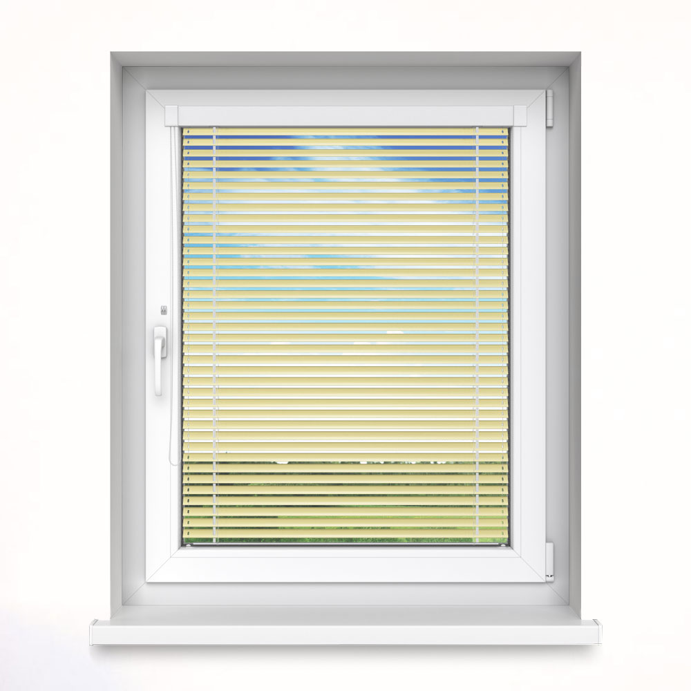 25 mm slat InLight Venetian Blind, Flax
