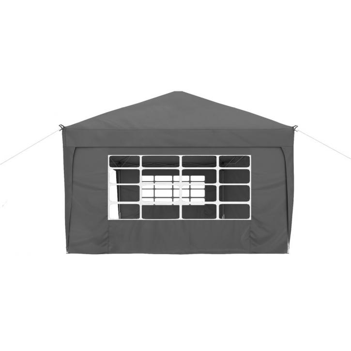 Universal Gazebo Wall with window, 295x195 cm
