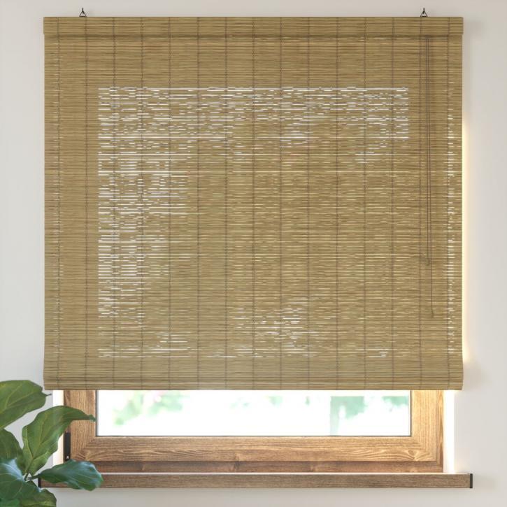 Bamboo Roman Roller Blind Ready Made