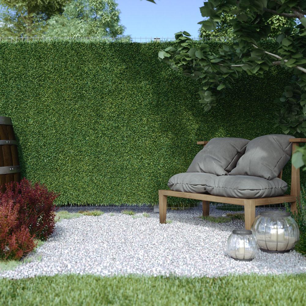 Artificial Ivy Grass Hedge Screening