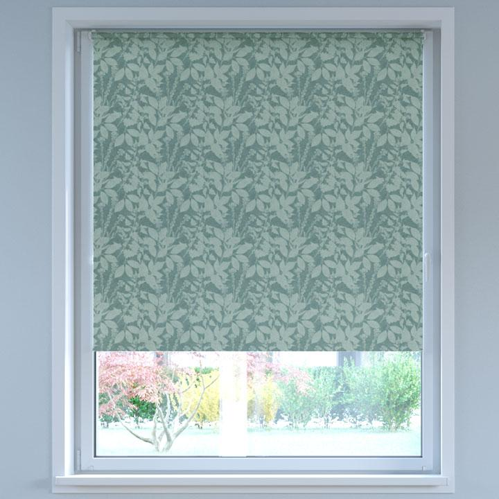 Blackout Digital Print No Drill Standard Roller Blind