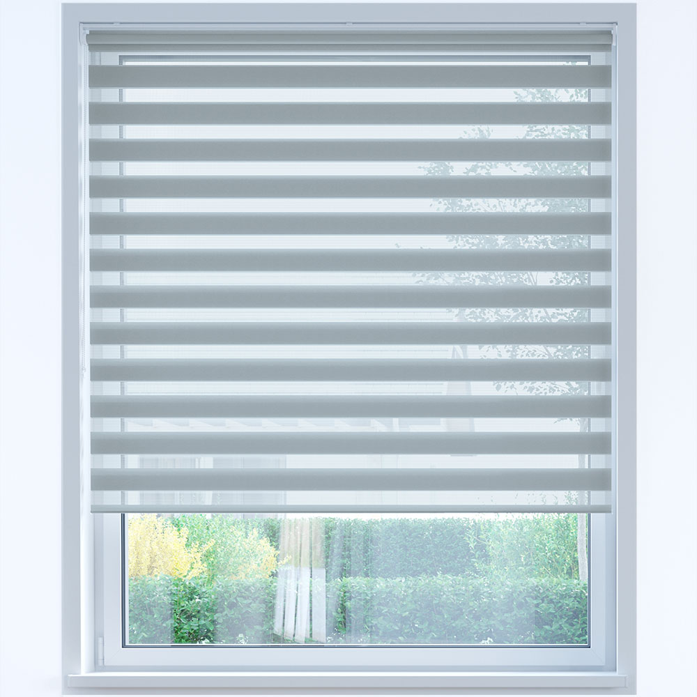 Standard Day and Night Roller Blind, Steel