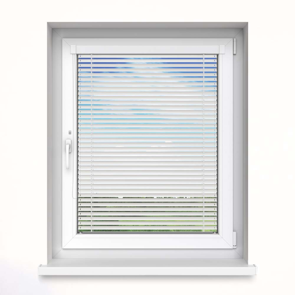 25 mm slat InLight Venetian Blind, Daisy White