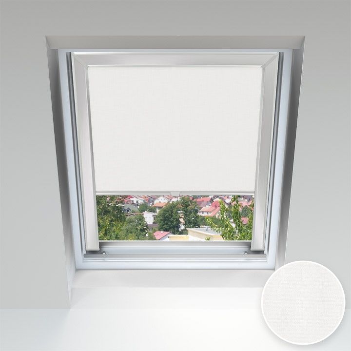 PureNight Skylight Blind, Jogurt White
