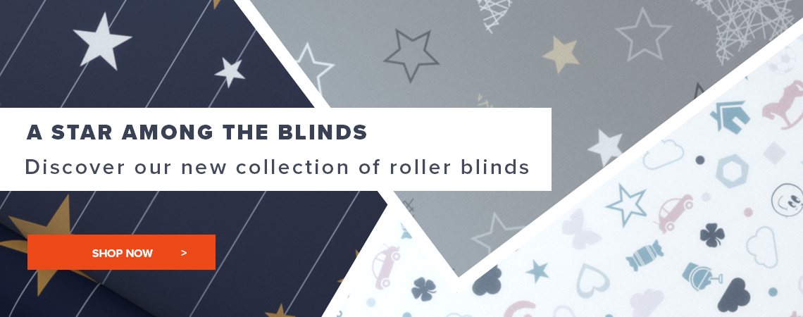 Discover our new collection of roller blinds