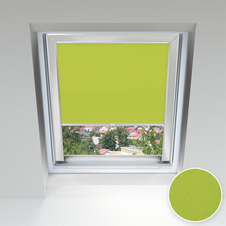 PureNight Skylight Blind, Apple Green