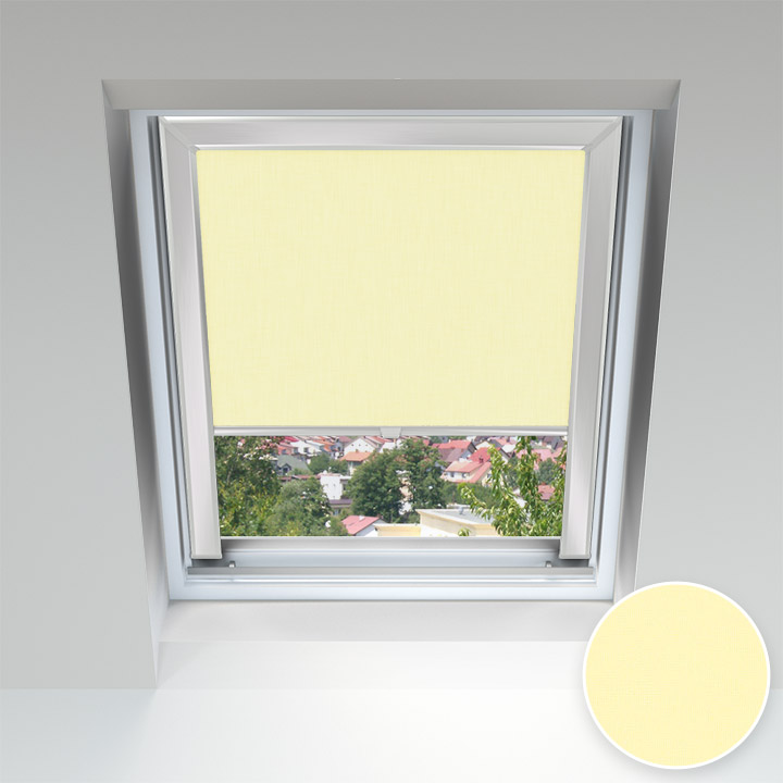 PureNight Skylight Blind, Parchment