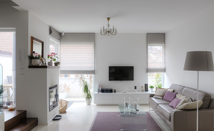 Monochromatic interior