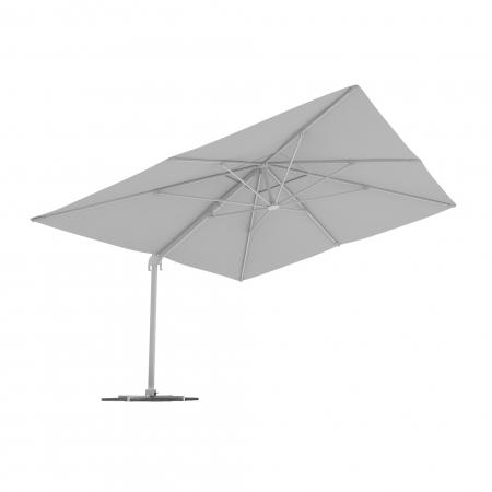 Rectangular Garden Umbrella, 4x3 m, White