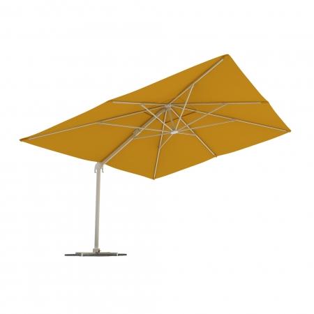 Rectangular Garden Umbrella, 4x3 m, Yellow