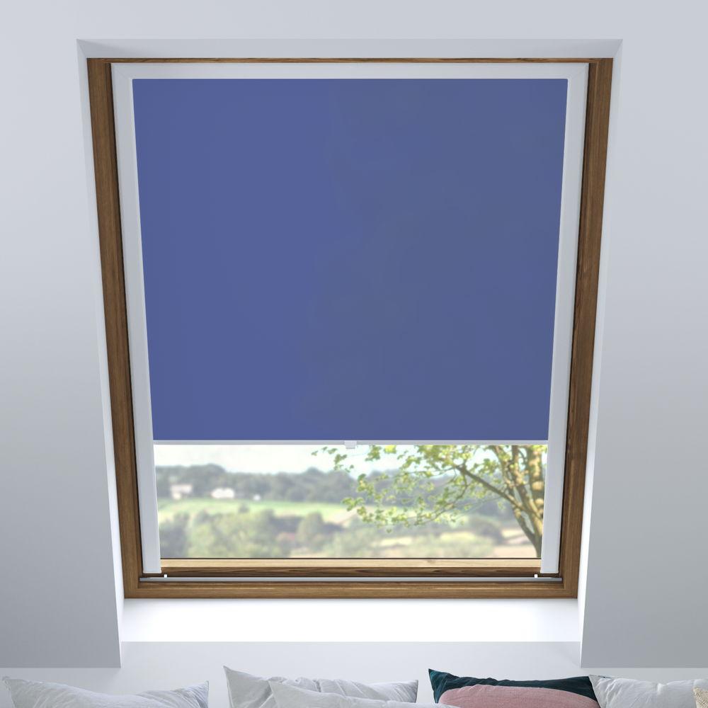 Darkening PureNight Skylight Blind, Ultramarine