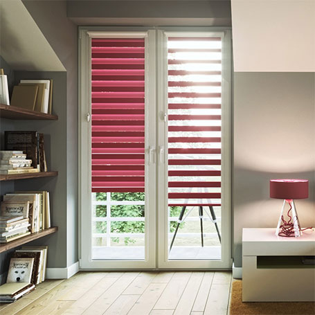 Cut to size day and night blinds