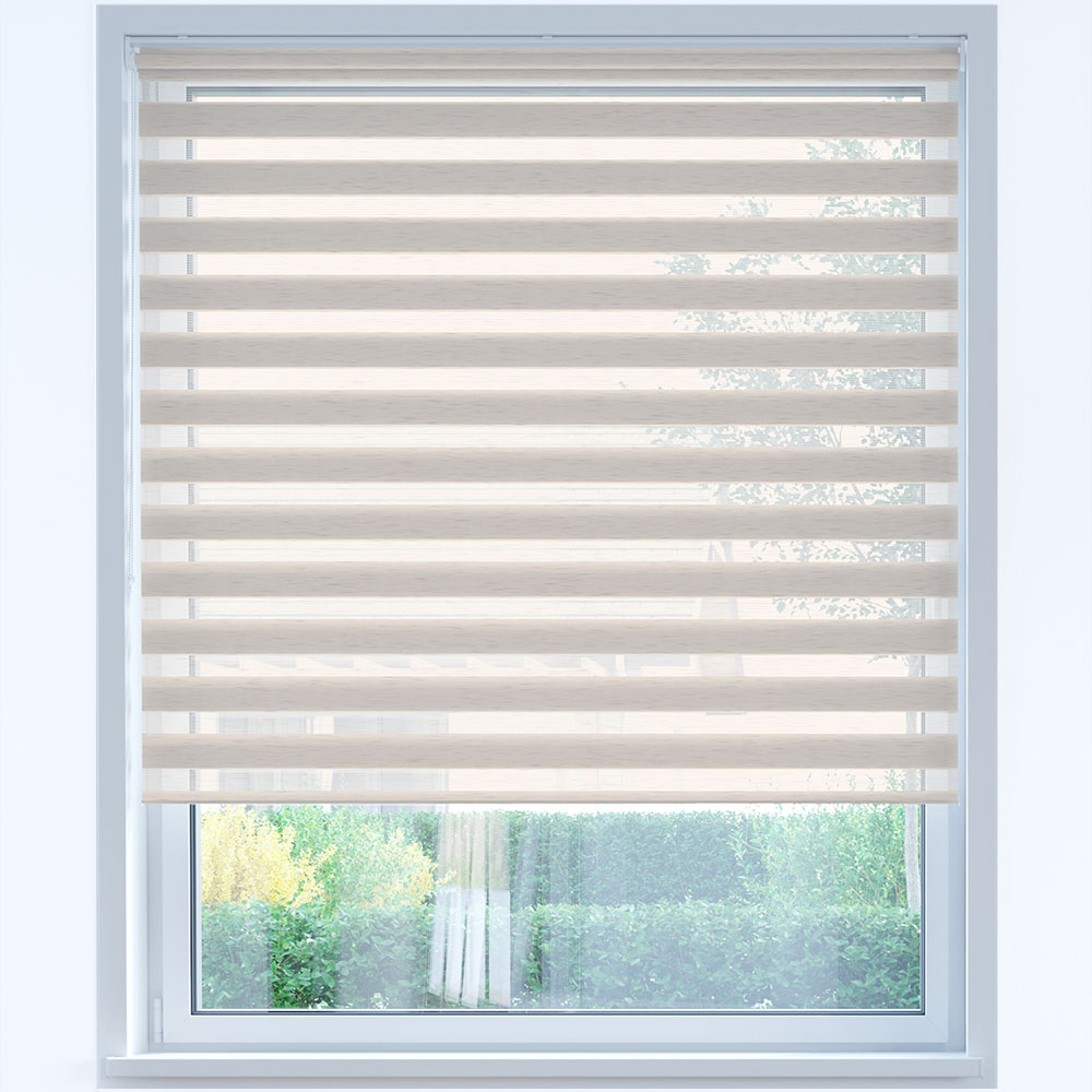 Standard Day and Night Roller Blind, Straw