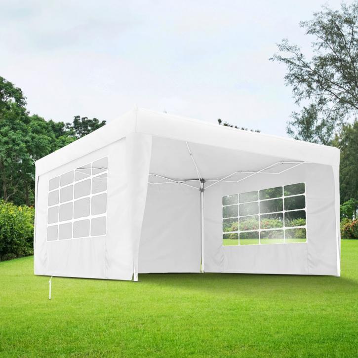 Universal Gazebo Wall with window, 295x195 cm