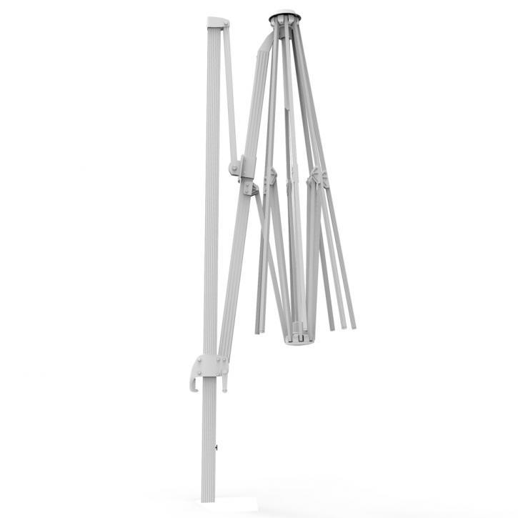 Aluminium frame for rectangular 4x3 m umbrella