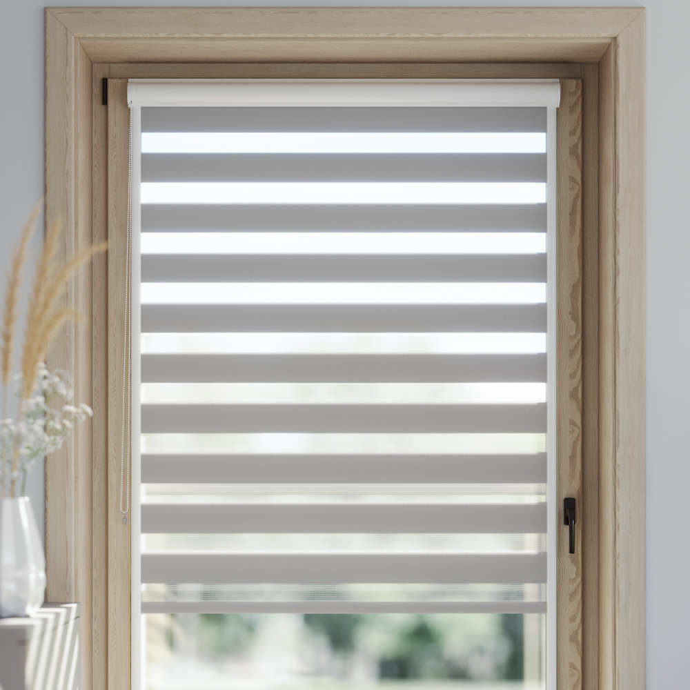 PureNight Standard Day and Night Blind, Nickel