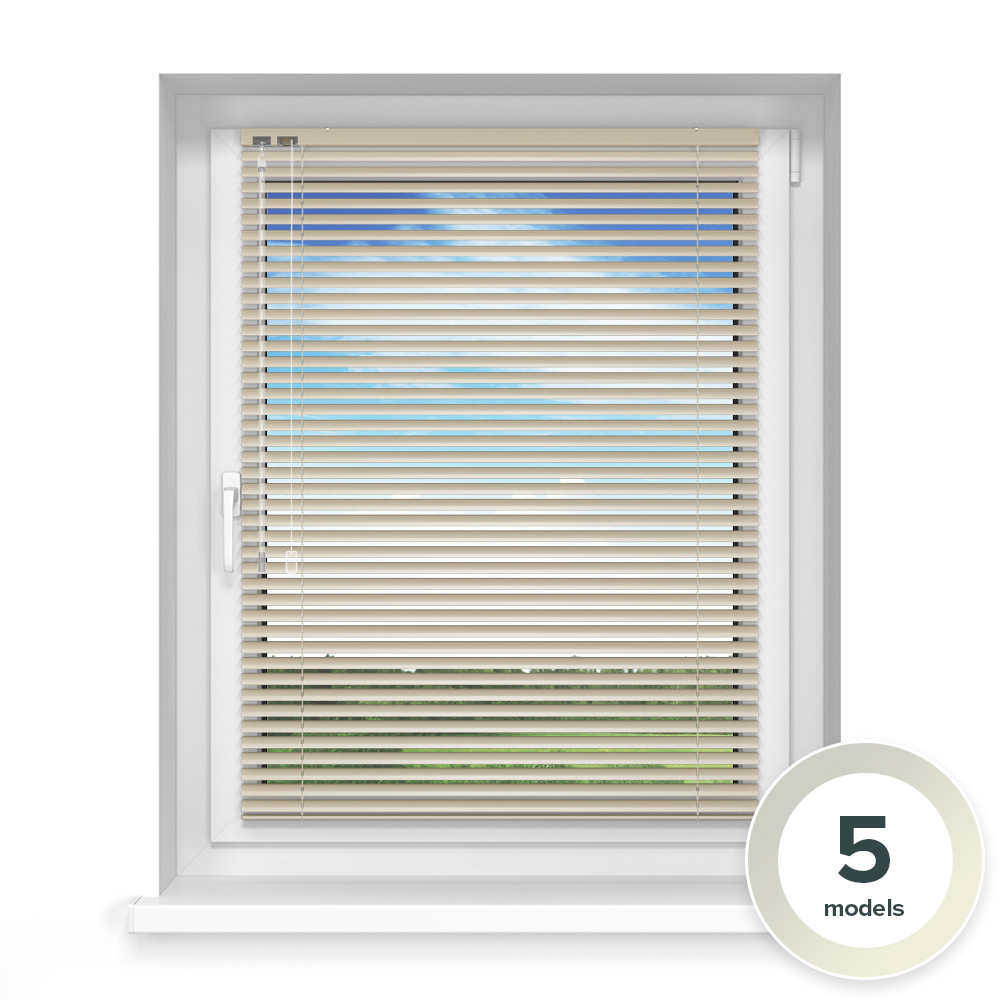 25mm slat Aluminium Blind, Mellow